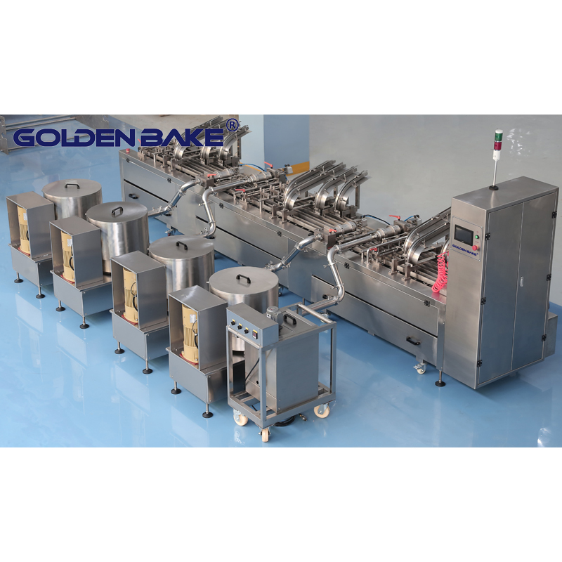 Biscuit sandwich machine, chocolate coating machine