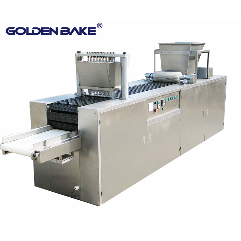 Center filling machine for hello/hollow panda biscuit