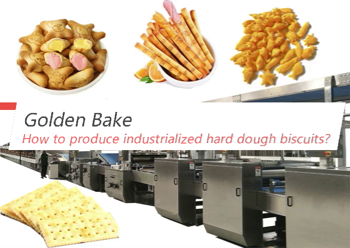 How to produce industrialized hard dough biscuits?