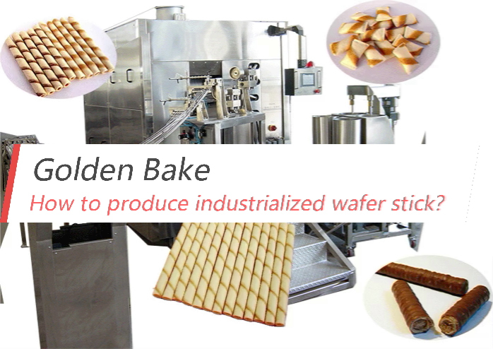 How to produce industrialized wafer stick?
