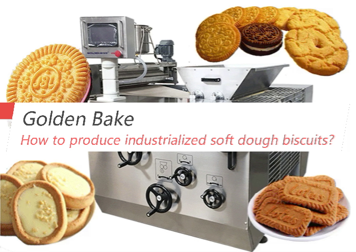 How to produce industrialized soft dough biscuits?