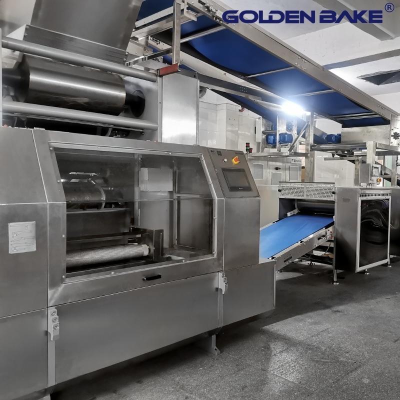 Cut sheet laminator---pre-made dough sheet
