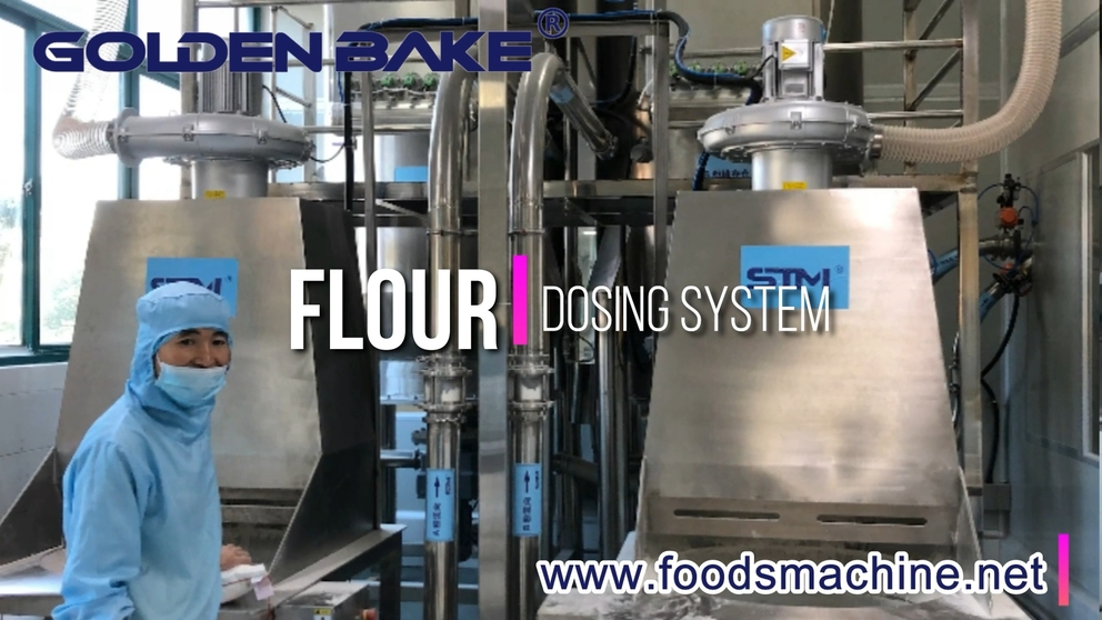 Golden Bake Automatic Material Dosing System