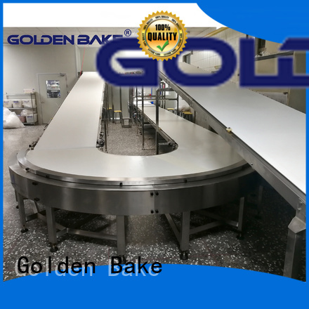 Golden Bake excellent cooling conveyor factory for normal cooling conveying