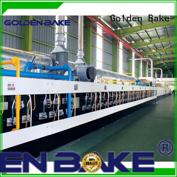 Golden Bake industrial biscuit oven manufacturer for biscuit baking