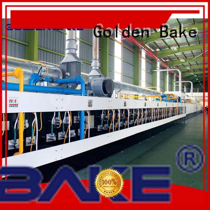 Golden Bake biscuit baking oven manufacturer for baking the biscuit