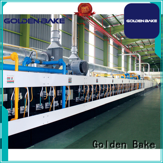 Golden Bake excellent industrial cookie oven manufacturer for baking the biscuit