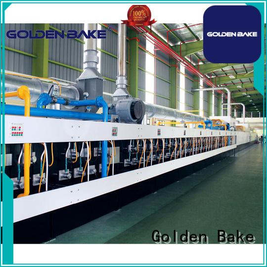 Golden Bake durable industrial biscuit oven supplier for baking the biscuit