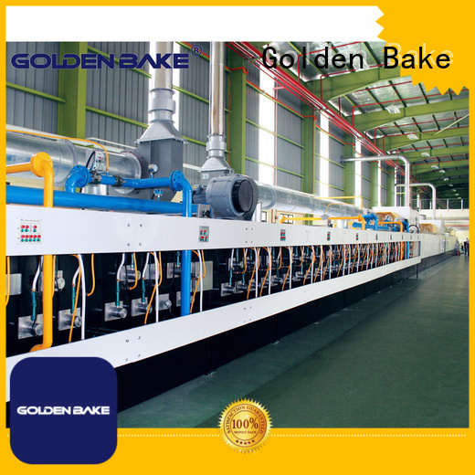 Golden Bake industrial biscuit oven manufacturer for baking the biscuit
