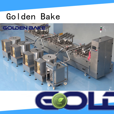 Golden Bake excellent biscuit equipment factory for biscuit cream filling