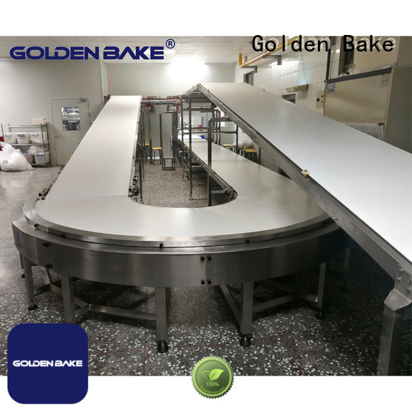Golden Bake durable biscuit cooling conveyor supplier for cooling biscuit